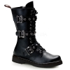 DEFIANT-303 Black Vegan Leather
